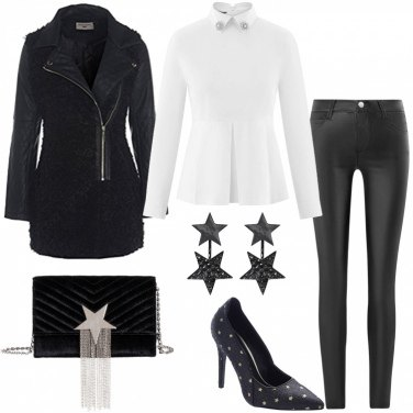 Outfit Black star