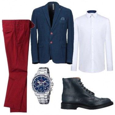 Outfit I pantaloni rossi