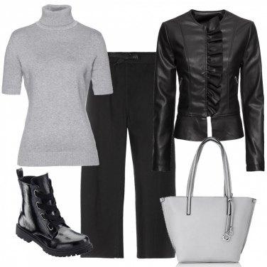 Outfit Pantalone culotte