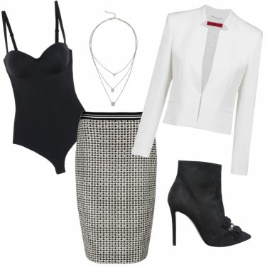 Outfit Classy Black \'n\' White