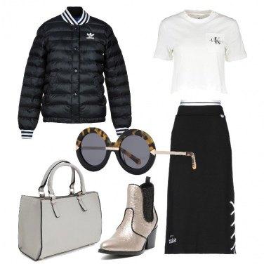 Outfit Sportswear in città