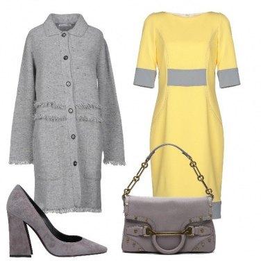 Outfit Vestito giallo
