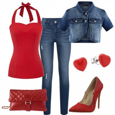 Outfit Pin up style