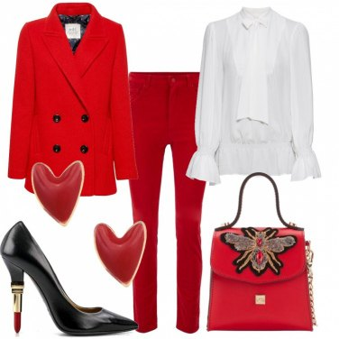 Outfit Completo rosso
