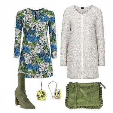 Outfit Mini dress floreale