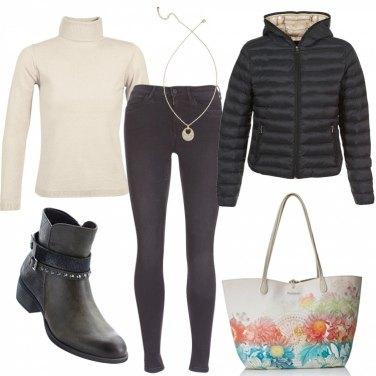 Outfit Maxi bag desigual