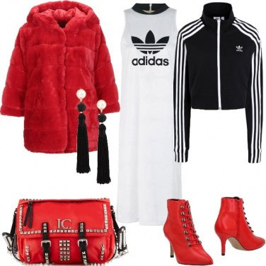 Outfit Athleisure Style da sera