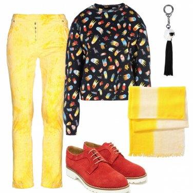Outfit Tanto eccentrica