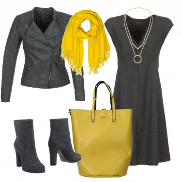 Outfit Maxi borsa lime