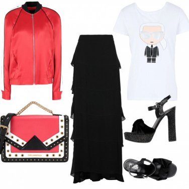 Outfit Total look Karl Lagerfeld