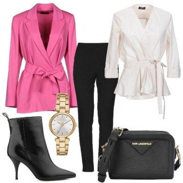 Outfit Giacca incrociata