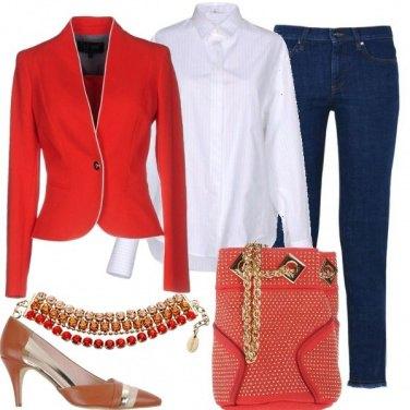 Outfit Rosso alla ribalta