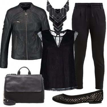 Outfit Rock in ballerine