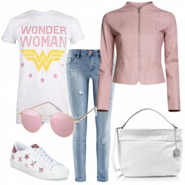 Outfit Pink stars