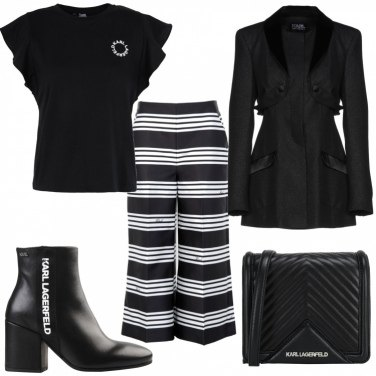 Outfit KL black and white