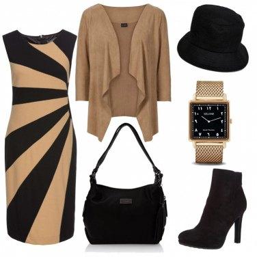 Outfit Cappello nero