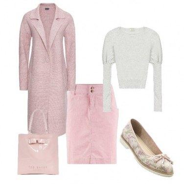 Outfit Teneramente rosa