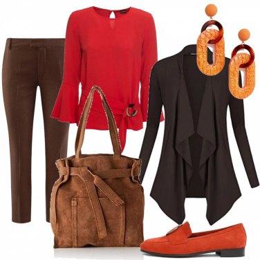 Outfit Gradazioni calde