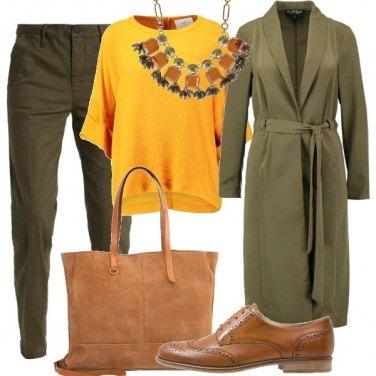 Outfit Calda ambra