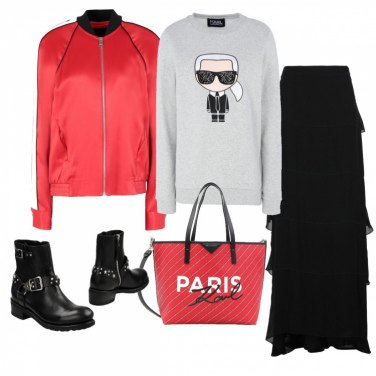 Outfit Tributo a Karl L.