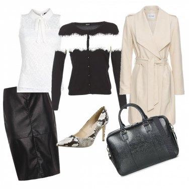 Outfit In ufficio con carattere