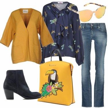 Outfit Accessori in giallo
