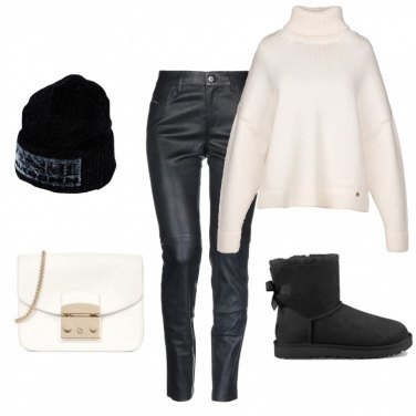 Outfit Winter B&W