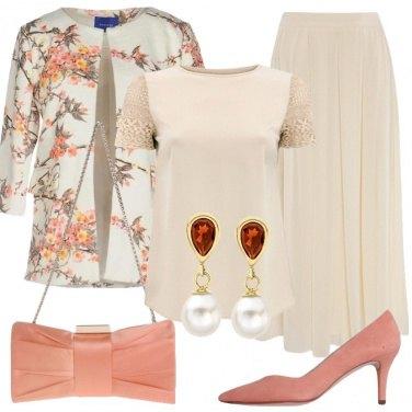 Outfit Deliziosa giacca a fiori