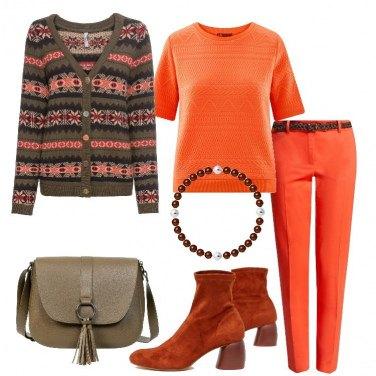 Outfit Arancio energetico