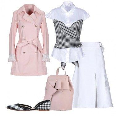 Outfit Rosa bianco e Vicky