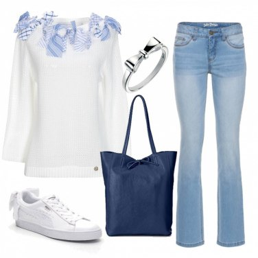 """Outfit L'outfit """"coi fiocchi"""""""