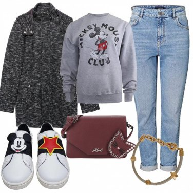 Outfit Topolino trendy
