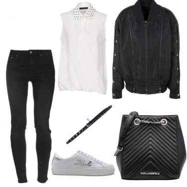 Outfit Total Karl Lagerfeld