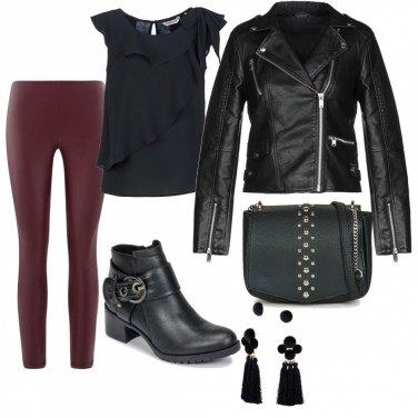 Outfit Femminile e rock