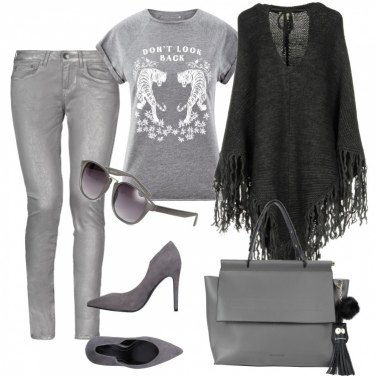 Outfit Grigio trendy