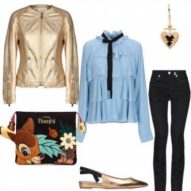 Outfit #mi vesto bene con poco di più #oro#