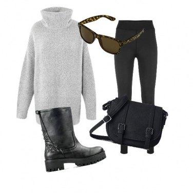 Outfit Maglione caldo