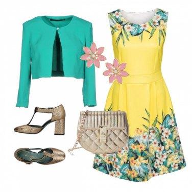 Outfit Per la cerimonia di primavera