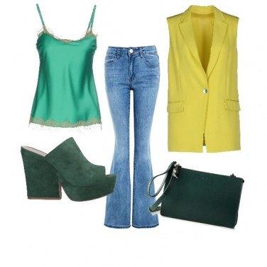 Outfit Zeppa verde