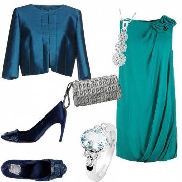 Outfit Toni del blu