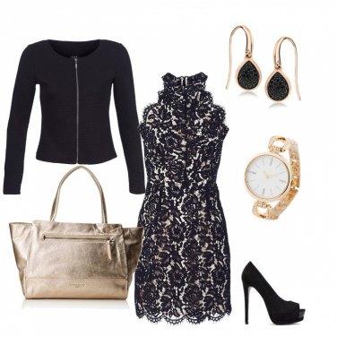 Outfit Maxi bag, golden girl!