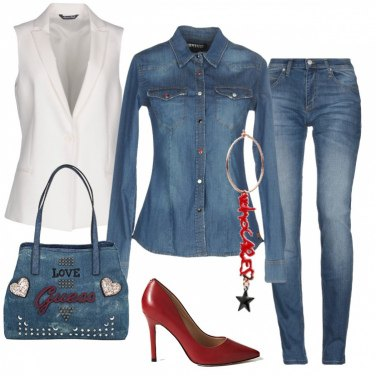 Outfit I Love Jeans