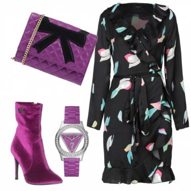 Outfit Viola e... tacco 10
