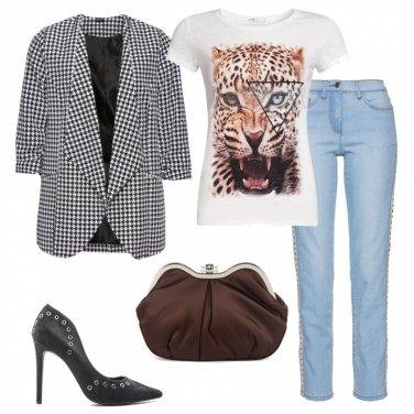 Outfit Pochette e jeans