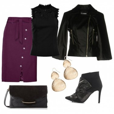 Outfit Stivaletto trandy