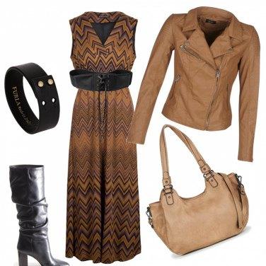 Outfit Rock con eleganza