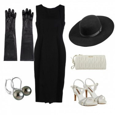 Outfit Audrey 2019 in black & white