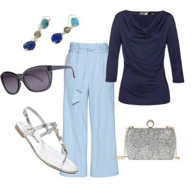 Outfit Colori e tessuti estivi