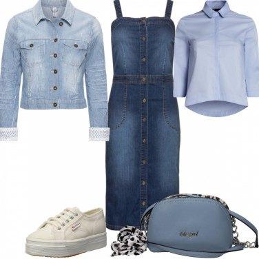 Outfit #mi vesto bene con poco #Denim#