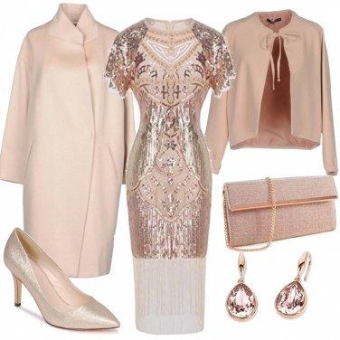Outfit Chic e brillante a Venezia